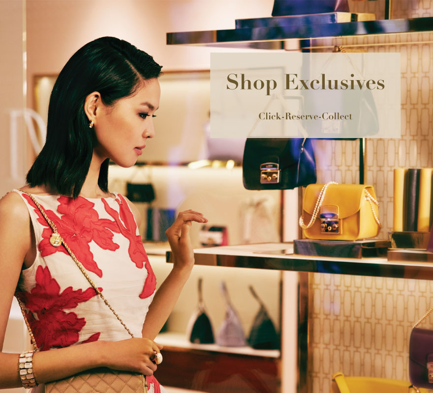 Shop Exclusives Click to Reserve Exclusives only at Sands Shoppes Macao